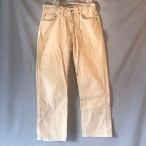 Eddie Bauer size 28x32 corduroy khaki color pants